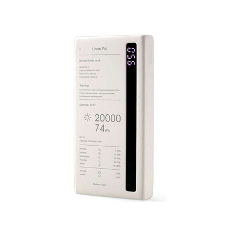 POWER BANK REMAX LINON PRO SERIES (RPP-73), БЕЛЫЙ
